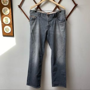 Hugo Boss Orange Relaxed Fit Button Fly Jeans